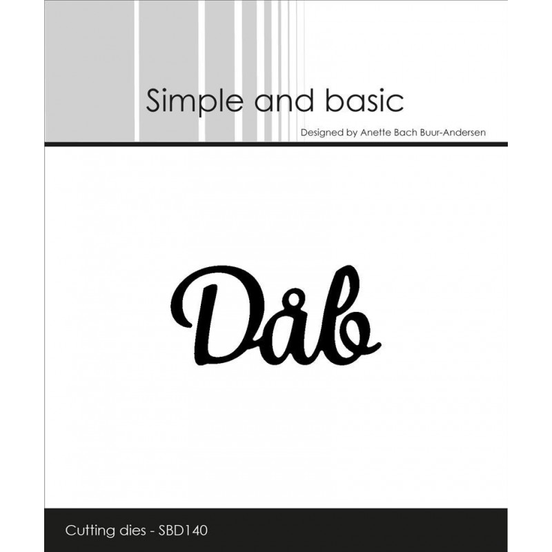Dåb - Dies / Simple and bacic SBD140