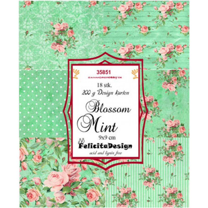 Blossom mint - Toppers