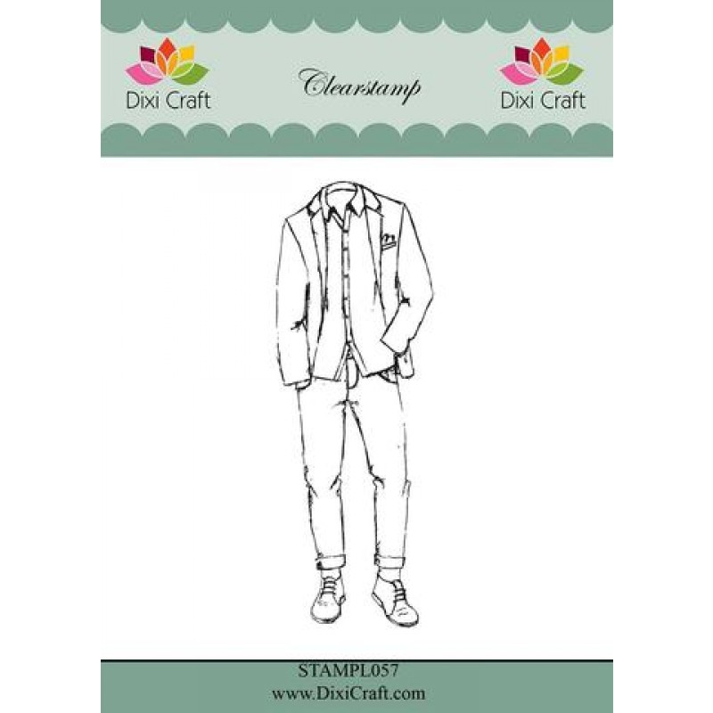 Boys outfit stempel