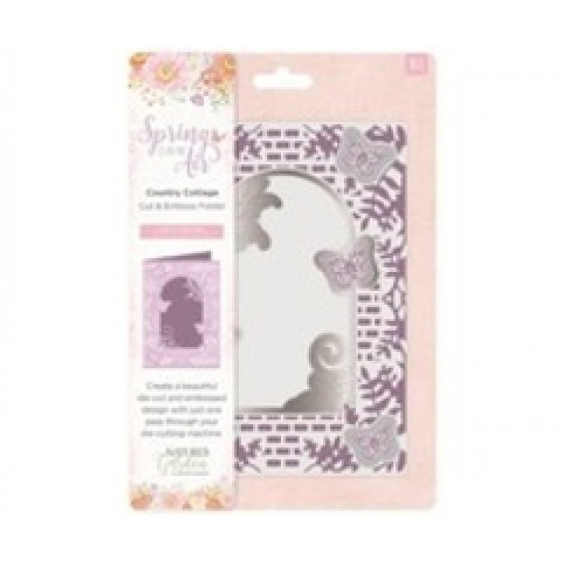 Country Cottage - Dies og embossing floders