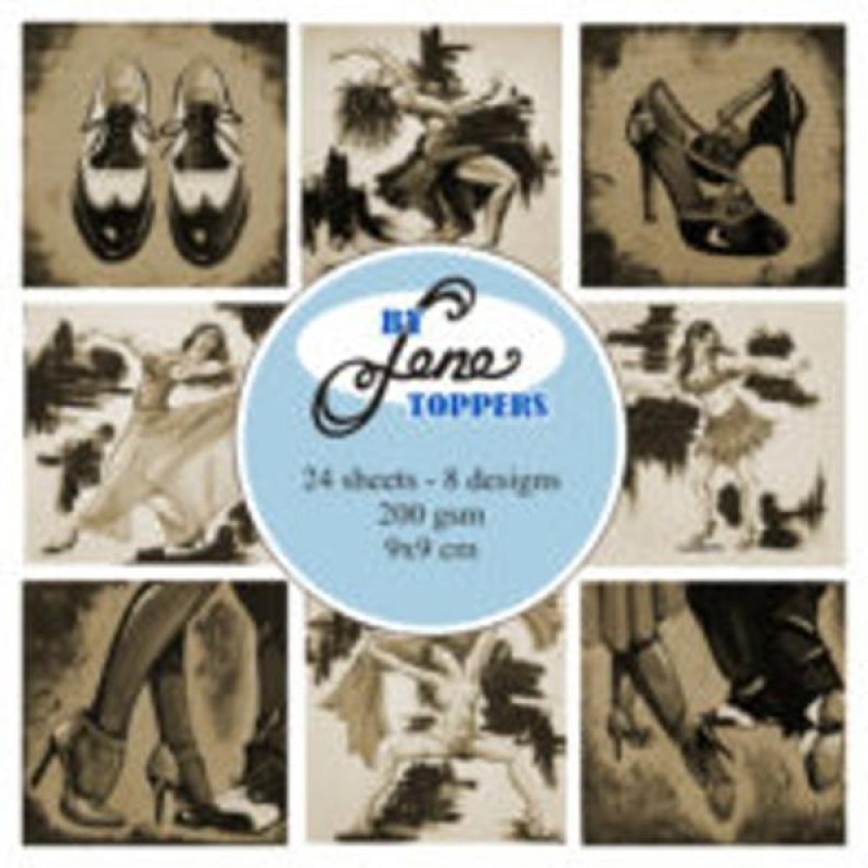 Dans Toppers - Dance - sepia