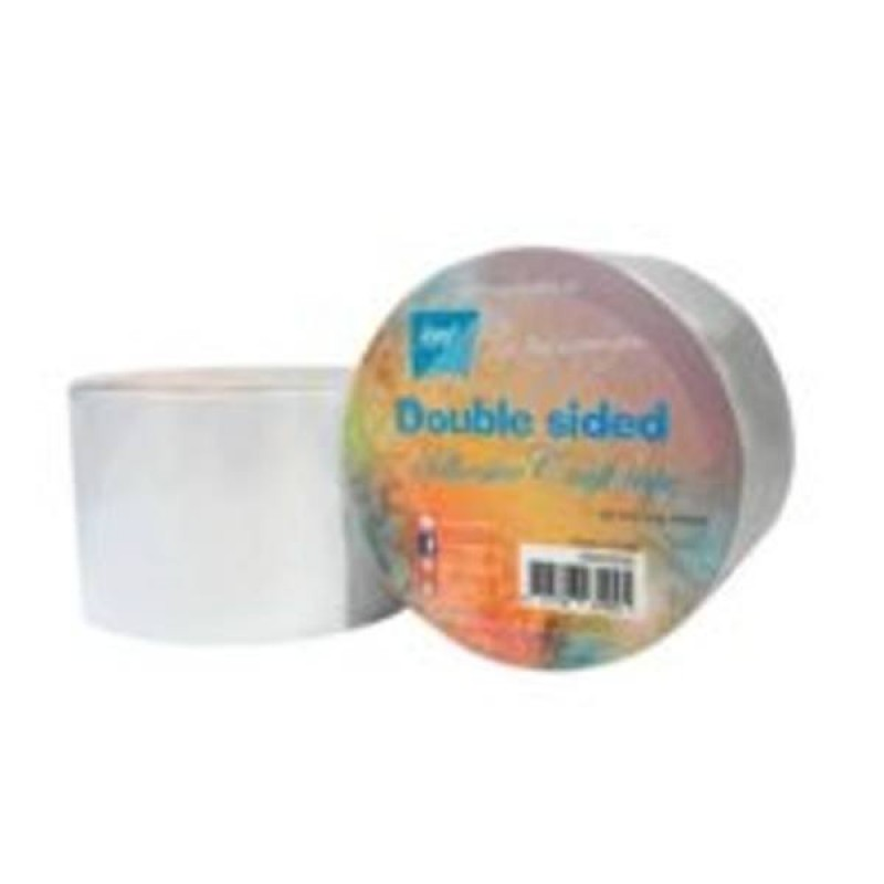 Dobbeltklæbende tape 6,5cmx15m - Double sided tap