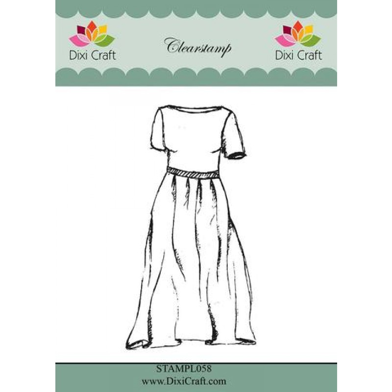 Girls outfit stempel