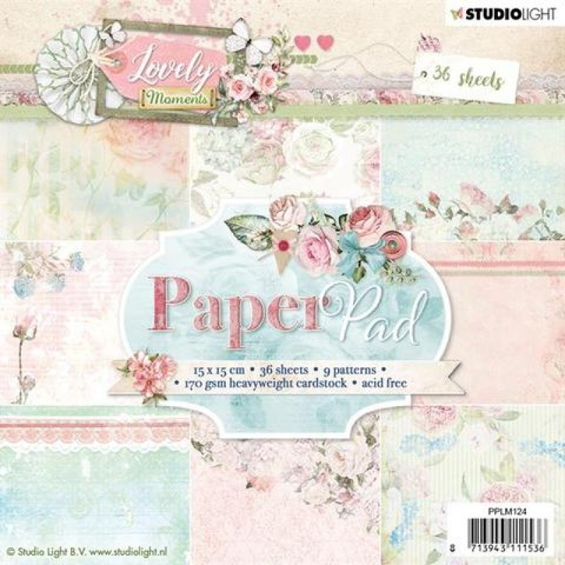 Lovely moments paper pad - Papirblok