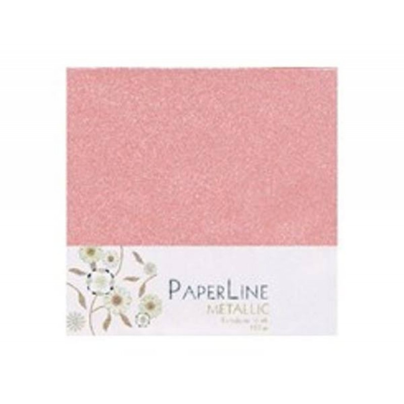Lys pink metallic kuverter 15x15cm - Light pink metallic envelopes