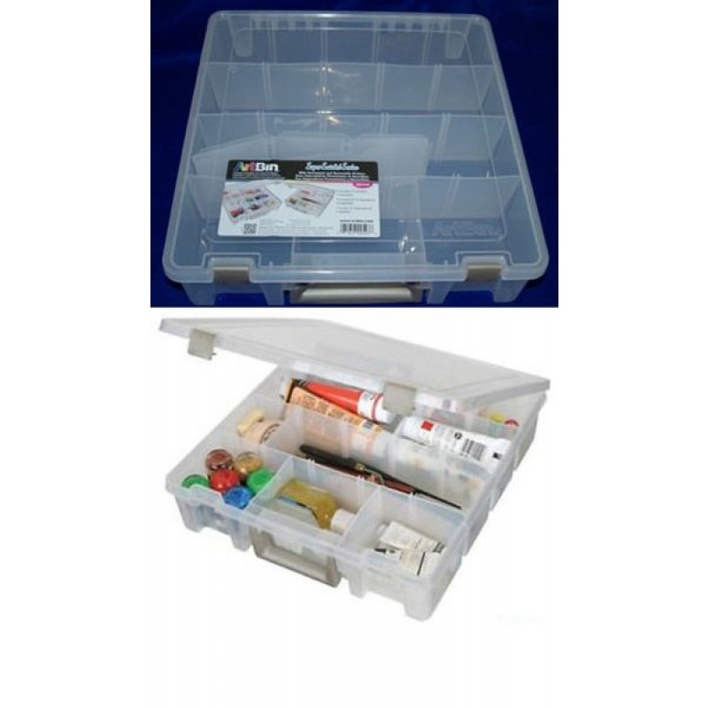 Opbevarings boks med rumdeler - Storage box with room divider