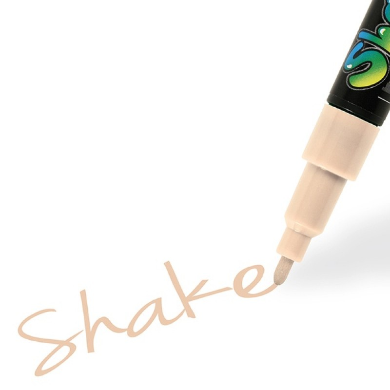 Graph´it Shake tusch fine hud - Graph´it shake pen fine skin