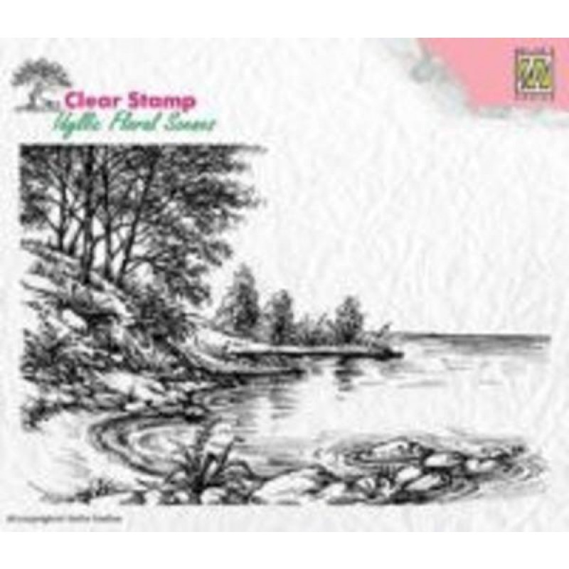 Vandkant stempel - Waters edge