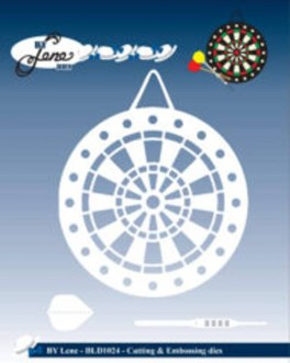 DartskiveogpilDartboardarrowsdies-20